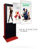 Pulgada LCD al aire libre del alto brillo 43 que hace publicidad del quiosco de la señalización de Digitaces de la visualización