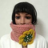 2 in 1 100% Island-Wolle, handgemachte Form häkelten 2 in Hüten 1 und im Stirnband mit Blumen-Änderung am Objektprogramm