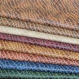 Alligatormuster Klima-PU-materielles Leder für Möbel-Sofa-Deckel