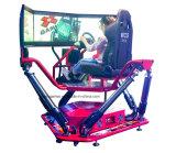 Vettura da corsa di Vr con il simulatore della corsa 9d Vr di Speeing