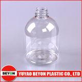 bottiglia di plastica poco costosa rotonda popolare del sapone liquido 500ml