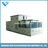Condicionador de ar de refrigeração do telhado da água marinha