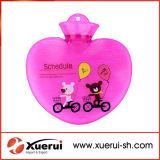Heart-Shaped бутылка горячей воды PVC 700ml