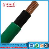 Fil électrique/électrique à un noyau, fil à un noyau de gaine de cuivre de PVC