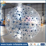 Recién diseño TPU y PVC inflable Zorb Ball, fútbol inflable bola zorbing