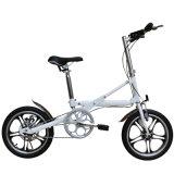 Schwarze Aluminiumlegierung-einzelne Geschwindigkeits-faltendes Fahrrad