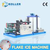 Máquina de gelo do floco da grande capacidade 15tons/Day com sistema de controlo do PLC