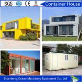 Het mobiele Huis van de Container van het Huis Modulaire Huis Geprefabriceerde van de Structuur van het Staal