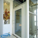Ascenseur à la maison en verre bon marché de bon des prix levage de villa petit
