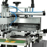 Máquina de impressão giratória manual da tela
