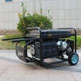 Bisonte (China) BS6500p (M) ar poderoso do gerador da gasolina 13HP do fio de cobre de preço de fábrica de 5kw 5kVA esfriou