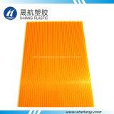 Strato Glittery del policarbonato doppio per il tetto della costruzione