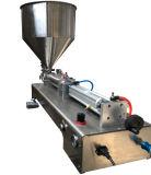 충전물 기계 반 자동 충전물 기계 압축 공기를 넣은 주스 액체