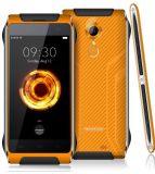 """Cor esperta do preto do telefone da câmera 3500mAh 1280*720p 3G+32g 8MP+16MP do núcleo 4.7 da prova IP68 4G Smartphone Mtk6753 Octa de Homtom Ht20 PRO tri de """""""