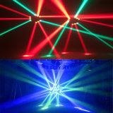 Свет луча спайдера партии 9PCS RGBW СИД диско этапа Moving головной