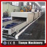 Linea di produzione d'acciaio rivestita di pietra della macchina delle mattonelle di tetto
