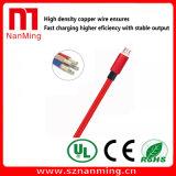 Cable del cargador del USB al cable micro del USB