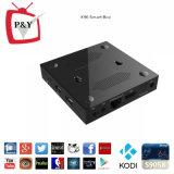 공장 X96 S905X 1g 8g Google 텔레비젼 상자 HD 텔레비젼 인조 인간 상자 쿼드 코어 Kodi 텔레비젼 상자