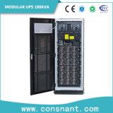 UPS em linha modular 180kVA com construído nos módulos de potência 30kVA 6 partes