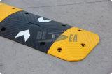 Gelb u. die 50mm Höhen-Pfeil-Straßen-Geschwindigkeits-Buckel schwärzen