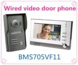Interphone de garantie à la maison 7 pouces d'intercom de téléphone visuel de porte