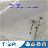 Qualitäts-dickflüssiges Rayon-Polyester-Schaumgummi gestricktes Matratze-tickendes Gewebe