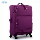 多くのカラー使用できる方法普及したナイロン柔らかい走行の荷物のスーツケースの最もよいギフト