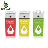 Bossang Wasser-Betätigte Notleuchte (mit Abwechslung Mgluft Batterien), bunte LED-Notleuchte Js-4