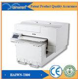 Impresora del DTG con la impresora blanca de tinta para la camiseta