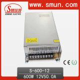 600W 12VDC 50A Ein-Outputschaltungs-Stromversorgung S-600-12 vorbildliches SMPS