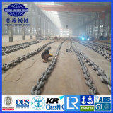 De Ketting van het anker met de Militaire Mariene China Grootste Fabriek van approvel-Aohai