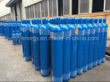 Baixo cilindro de alta pressão do aço sem emenda de dióxido de carbono do argônio do nitrogênio do oxigênio do preço 50L