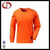 サッカーのジャージー均一ワイシャツのゴールキーパーをカスタム設計しなさい