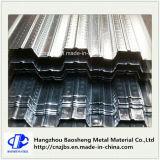 China galvanisierte gewölbtes Metallfußbodendecking-Blatt