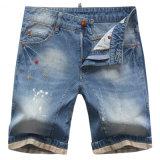 工場メンズデニムは夏のジーンズのショートパンツをショートさせる