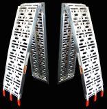 """90の"""" 1の二重ランナーアルミニウム固体表面によってアーチ形にされる折るATVの傾斜路、500のLb。 容量"""
