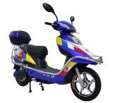 Motocicleta elétrica com a motocicleta dupla da suspensão E