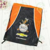 De promotie Waterdichte 210d Rugzak Shoe Bag M.Y.D-010 van Drawstring van de Sporten van de Polyester