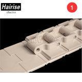 Diritto-Eseguire la catena di plastica della parte superiore della stecca di POM per il sistema di trasportatore (Har828)