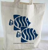 カスタム白い昇進の再使用可能な綿のショッピング・バッグ