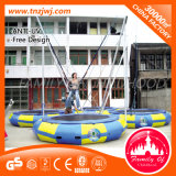 Grande Size Bungee Jumping Round Trampoline com Safety Net