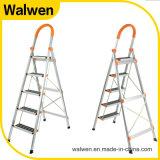 Huishouden die Roestvrij staal vouwen 3 Ladders van de Stap met Rassenbarrière