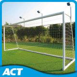 Postes de aluminio estándar del balompié de la FIFA para el entrenamiento