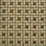 Mosaico Polished del marmo Mixed di cristallo (FYSM095)