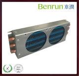 Kupferne Schlauchheizung und Kühlvorrichtung-Kondensator mit Aluminiumdeckel