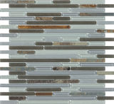Telha de mosaico de vidro de 8mm, Mosaico de parede para cozinha de banheiro