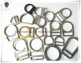 Anillos en D del metal de los accesorios del harness de seguridad (H110D)