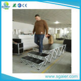 Einfaches Transport Aluminum Smart Indoor Stage mit Folding Riser