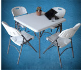 80cm Square Plastic Folding Table