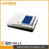 Électrocardiographe approuvé ECG (EKG-1206A) - Fanny de couleur de Digitals 6-Channel de la CE de prix usine